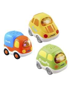 VTech Toot Toot 3 pack (Car, Truck & Van)  5.99 @ Toymaster, Pricematched at Mothercare for £3.79