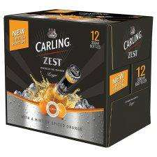 New Limited Edition Carling Zest Spiced Orange - 12x330ml just £6 @ Tesco Instore