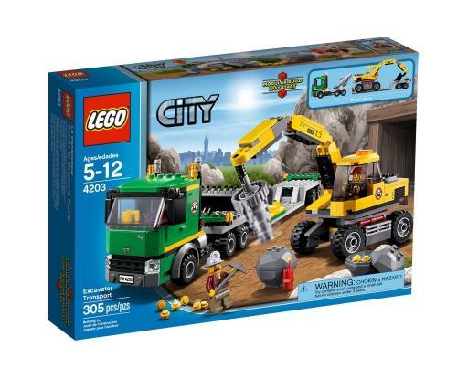 Lego  City Excavator Transport 4203 Tesco Direct Online £12.00 (was £24.97)
