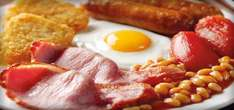 Crown Carveries all you can eat brekkie £3.99