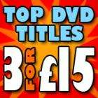 3 top DVD Titles for £15.00 Delivered@ BlahDVD