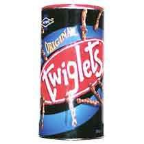Tin of twiglets , 2 for £3 at Iceland