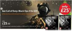 Call of Duty Black Ops 2 - £25 when bought with PSN/XBOX points @ Tesco Direct