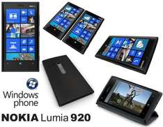 Nokia Lumia 920 Pay As You Go Phone & Wireless Charger & WESC Headphones £399.99 (+ £10 Top-Up) @ EE