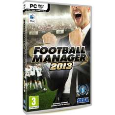 Football Manager 2013 - £12 delivered from Woking FC