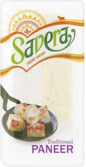 Savera Paneer £3 a kg (3 for the price of 2) @ tesco
