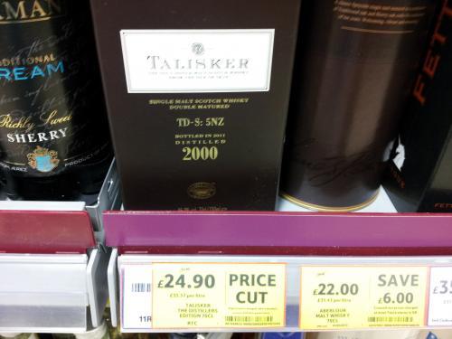 Talisker distillers edition £24.90 - tesco