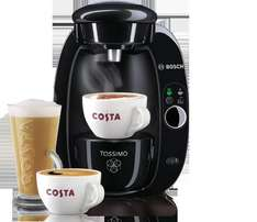 Bosch Tassimo T20 from Costa plus £20 T-Disc credit for £30