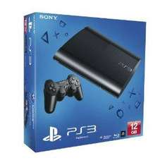 Sony PlayStation 3 Super Slim Console 12GB - £135 - Delivered @ Amazon UK