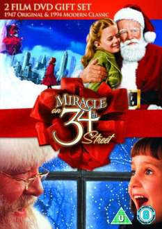 Miracle on 34th Street Double Pack [DVD] [1947] & (1994) £5 @ Amazon