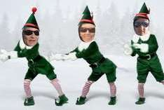Elf Yourself. Create a free video of yourself and up to four others singing and dancing as christmas elves :)