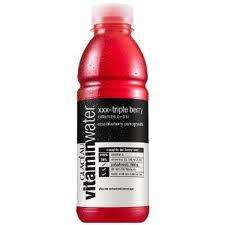 Glaceau Vitamin water, Triple XXX berry, 2 for 99p @ 99P stores