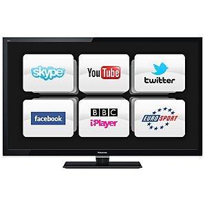 Panasonic Viera TX-L47E5B LED HD 1080p Smart TV, 47 inch £599 @ JohnLewis