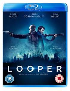 Looper Blu Ray pre-order £11.97 at Asda Entertainment (free delivery)