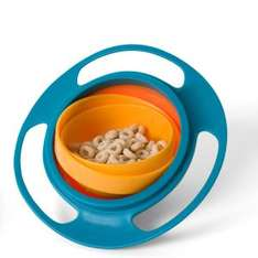 3 unspillable kids bowls + free delivery @The Hut