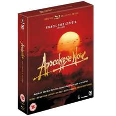 Apocalypse Now Blu-Ray - 3 disk (including Heart of Darkness) £13.99 @ Amazon