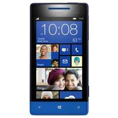 Sim-free HTC 8S blue for 208.49 on Amazon