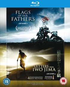 Flags of our Fathers / Letters from Iwo Jima Blu-ray double pack £6.26 with code at The Hut