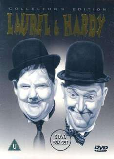Laurel And Hardy - Collector's Edition (Five Discs) [DVD] £7.99 @ DVD Gold