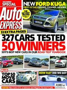 6 issues of Auto Express magazine + iPad Edition + FREE 26 piece toolkit for £1  @ autoexpress