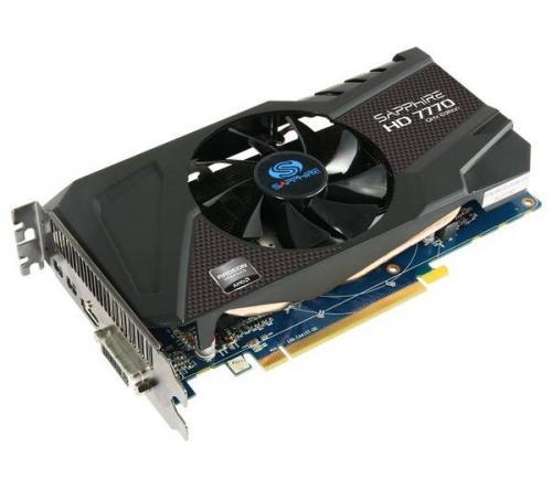 SAPPHIRE AMD Radeon HD 7770 GHz Edition £66.91 @ PC World (instore)