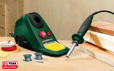 Adjustable Temperature Soldering Station 48watt  - £8.99 Available from 24th @Lidl