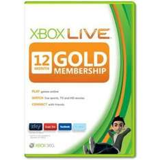 Xbox live gold 12 months £27.99 with code at tesco entertainment