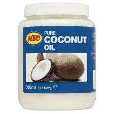 Pure coconut oil 500ml £1.69 @ Tesco