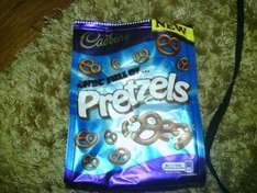 Cadbury chocolate pretzels 2 for £1.50@ Home Bargains
