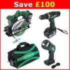 Hitachi Li-ion Triple Pack 18V