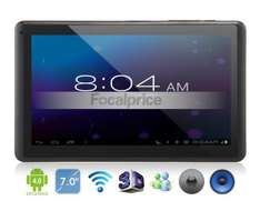 "7"" Android 4.1 Dual-core RK3066 1.6GHz Tablet PC with Wi-Fi, HDMI, 4000mAh Battery, Front&Rare Cameras, Capacitive IPS Touch (8GB)  £63.49 @ Focal Price"
