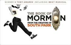 book of mormon - preview tickets - £20 @ Delfont Mackintosh Theatres
