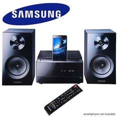 Samsung MM-E460D Sound System With IPod And Samsung Galaxy Docking, DAB, Bluetooth And DVD Playback £84.99  @ Bid TV