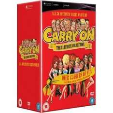 Carry on Films Complete Collection for 54.99 (from 199) @ dvdGOLD