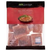 Asda 1kg WILD Salmon Fillets (boneless, skinless, frozen) £7.40 @ Asda