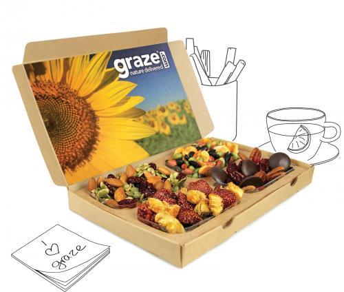Free Graze Box @ Graze using Amazon Code FREEAMA