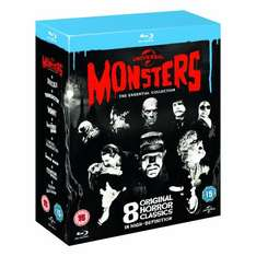 Universal Classic Monsters: The Essential Collection [Blu-ray] £28.99 @ DVD Gold