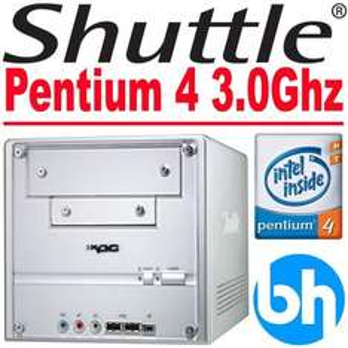 Refurbished Shuttle XPC Barebones P4 3.0Ghz HT 1GB RAM SFF Desktop PC  £23.99 @ eBay  bargain*hardware