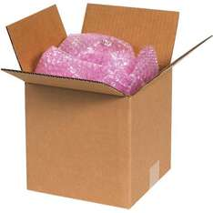 """Don't be caught out by the new Royal Mail small parcel measurements - Royal Mail Small Parcel Cardboard Boxes 6"""" Cube £24.99 for 100 delivered on eBay (phoenixsuppliesonline)"""