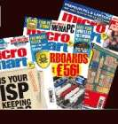 Micro Mart computer mag, FREE Roxio CRUNCH software + 3 trial issues