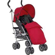 Mamas & Papas Red Swirl Pushchair Package £49.99 argos collection