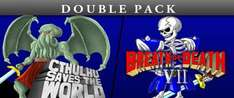 Cthulhu Saves the World & Breath of Death VII Double Pack 67p @ Steam