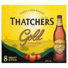 24 x 500ml Bottles of Thatchers Gold Cider for £5 at Tesco