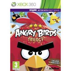 Xbox 360 Angry Birds - New - Supplied by Amazon £11.71