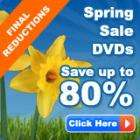 The  Hut Spring Sale - Save upto 80% on CDs DVDs, Games and Books (Final reductions)