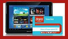 Free £20 Argos voucher when you buy any iPad or Tablet £100 or more @ Argos