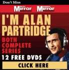 I'm Alan Partridge Series 1 & 2  Free With The Daily Mirror