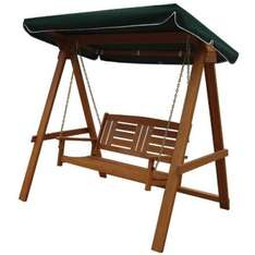 Bali 2 seater wooden garden swing £111 inc. delivery