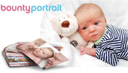 Bounty newborn photos for free. @ Snapfish UK