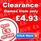 Games Clearance at The Hut - Various Games from £4.93 [Wii, Xbox 360, PC, PSP, DS, PS2] (Free Del & 5% Quidco)